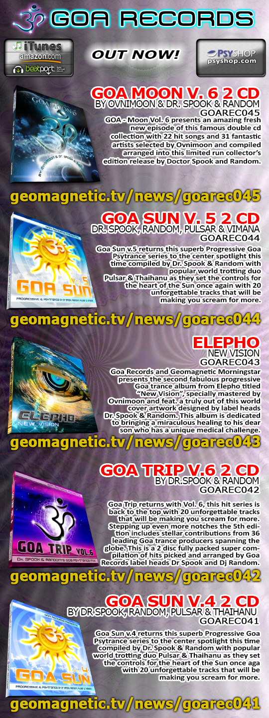 Goa Records Releases